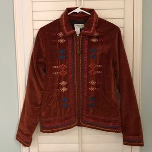 Coldwater Creek Sz S Southwest Inspired Jacket